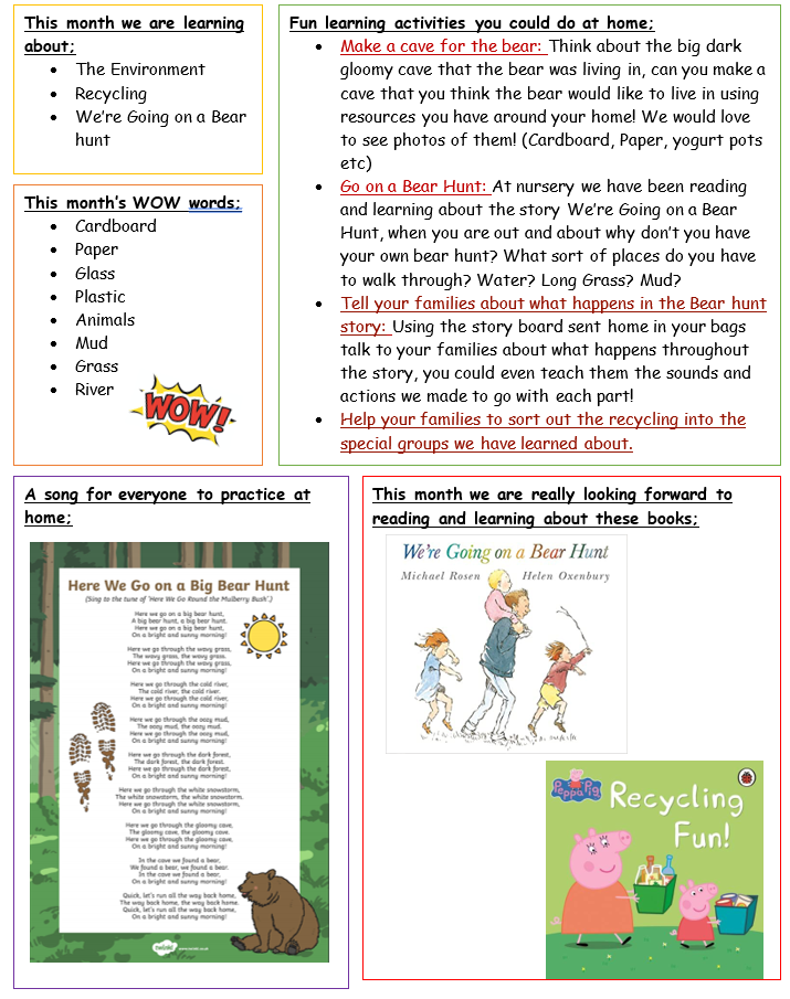 Toddler's Home Learning June 2021